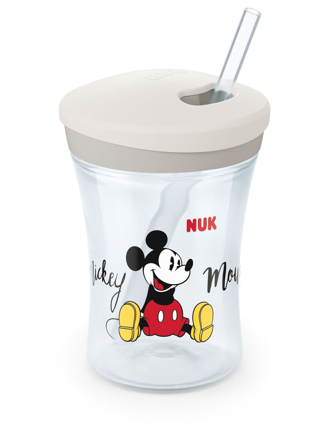 Nuk 255457 pohár so slamkou Mickey 230ml